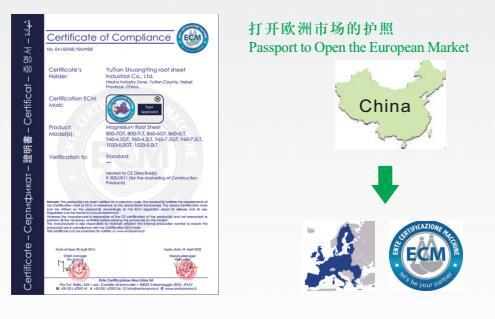 意大利ECM-欧盟国际级认证